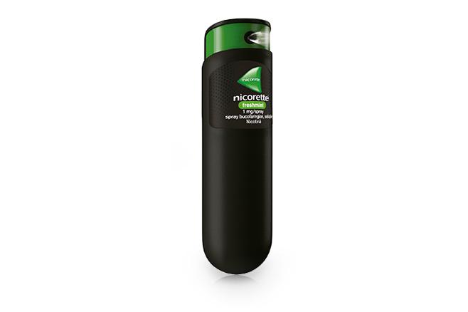 NICORETTE<sup>®</sup> Freshmint 1 mg/spray, spray  bucofaringian, soluţie